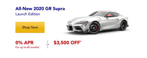 New 2020 Supra Special