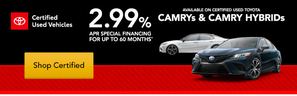 Shop Certified at Jay Wolfe Toyota