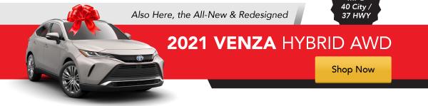 2021 Venza Hybrid