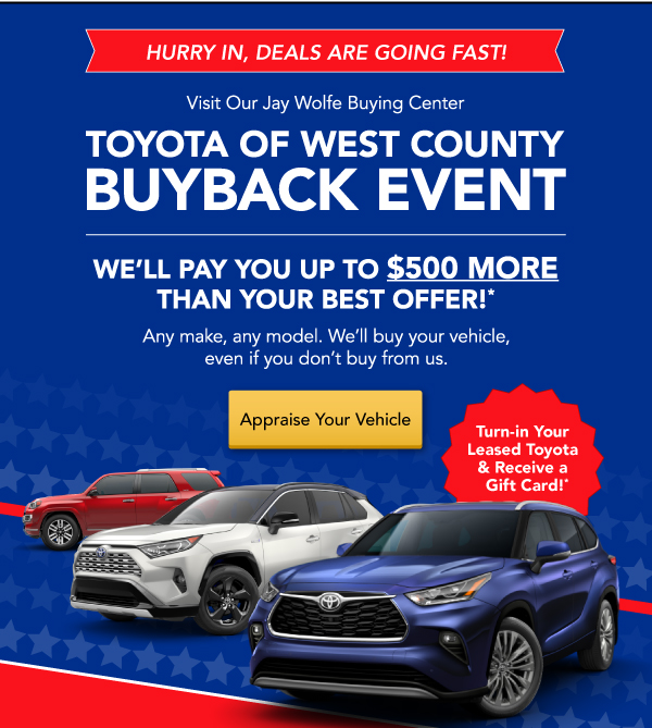 Buyback Event