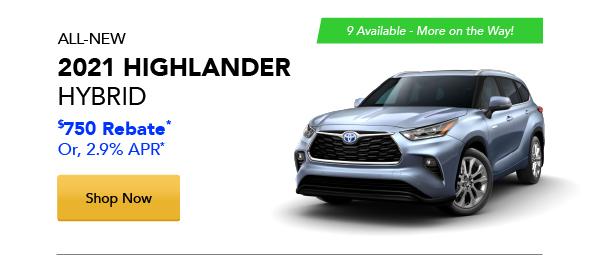 2021 Highlander Hybrid