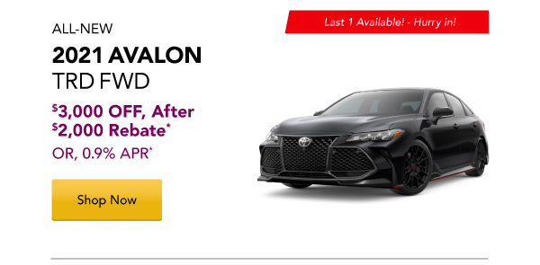 2021 Avalon